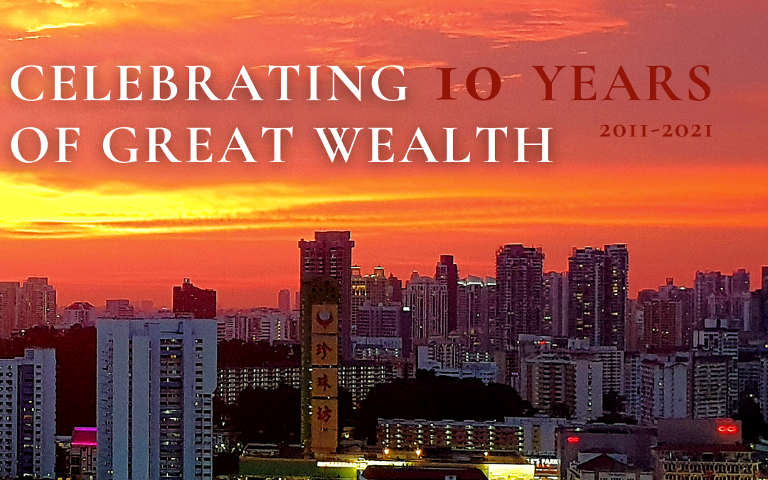 SingAlliance Celebrates 10 Years of Great Wealth